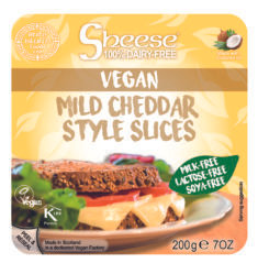 Mild Cheddar Style Sheese Slices -  200g
