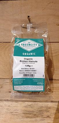 Broken Walnuts - Organic -125g