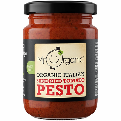 Mr Organic Sundried Tomato Pesto - 130g