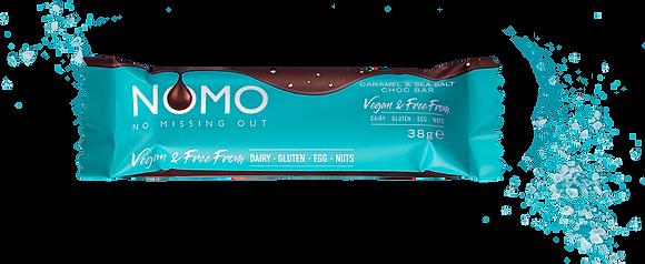 Nomo Caramel and Sea Salt bar - 38g