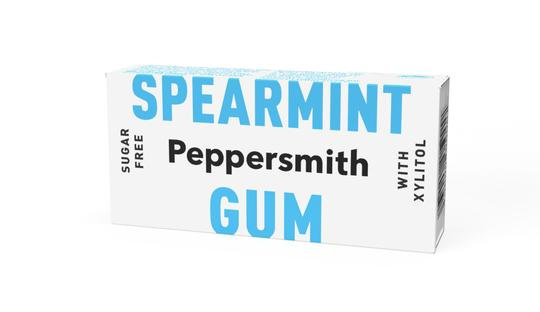 Peppersmith Spearmint Chewing Gum - 15g