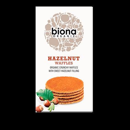 Biona Hazelnut Waffles 175g