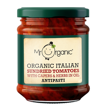 Mr Organic Sundried Tomatoes in Oil 190g