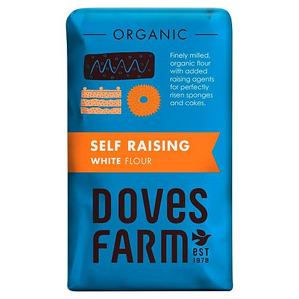 Organic White Self Raising Flour 1kg