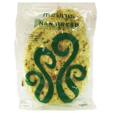 Mr Unis Garlic & Coriander Naan - 2 Pack