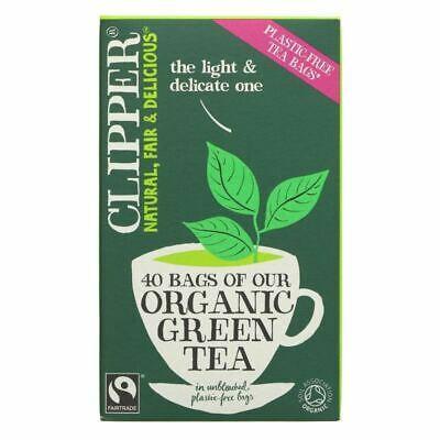 Organic Pure Green Tea Bags - 40
