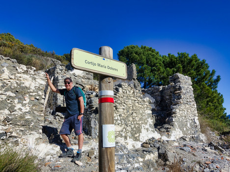 The Old Silk Route between Malaga and Granada