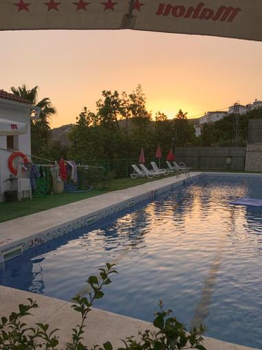 Communal pool in Canillas de  Albaida