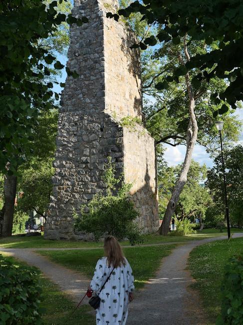 Ruins in Sigtuna