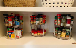 Turntable pantry
