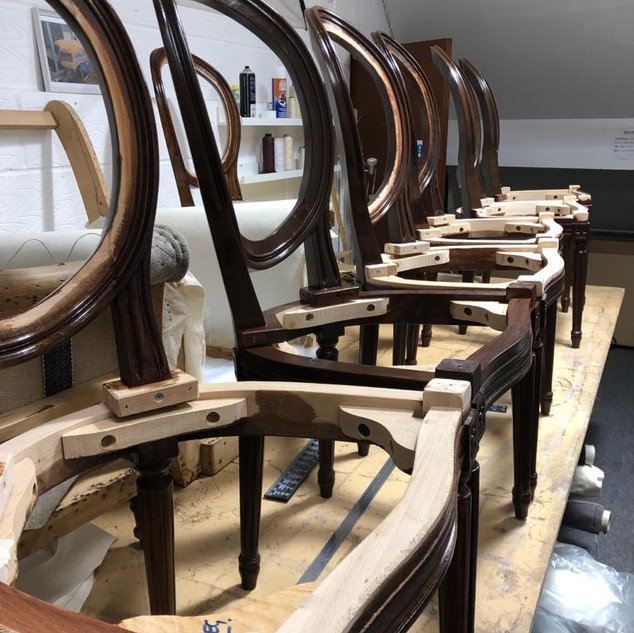 Level 1 chair frames are included in fees