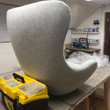 Level 3 concave chair work in progress