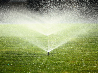 Check your Irrigation times - summer's coming