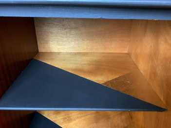 Mid Century Modern Sideboard interior