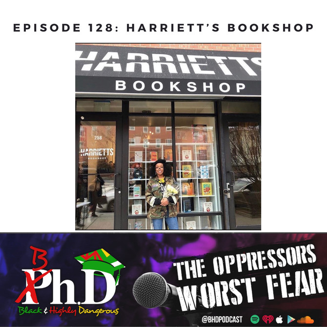 Episode 128: Harriett's Bookshop
