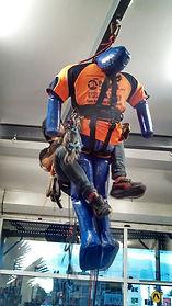 Height Safety. IRATA. Abseil