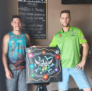 Canberra Raiders painting