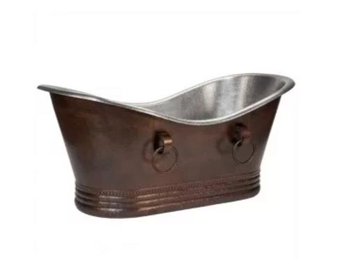 Copper Slipper tub
