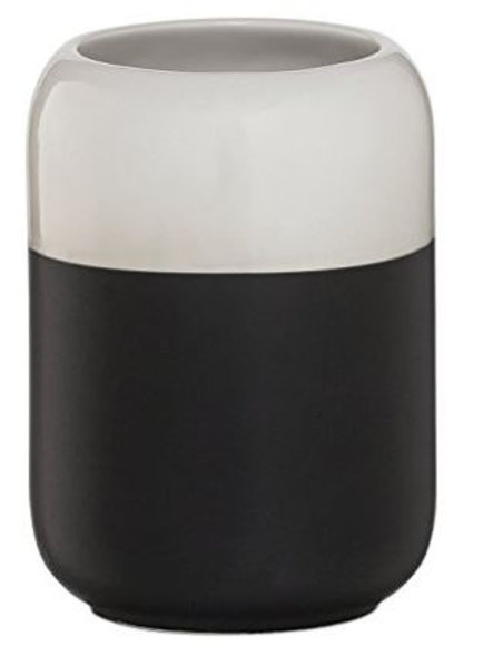 Modern Black & White Soap Dispenser