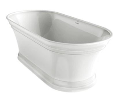 "Lindsay Jacuzzi 67"" freestanding tub"