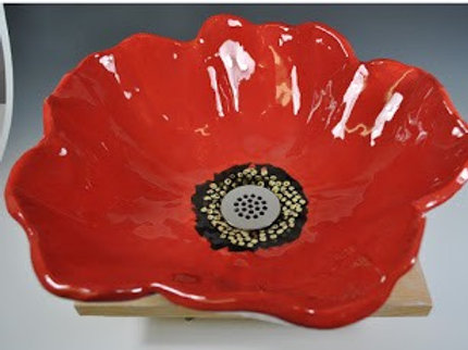 The Artistic Bath Poppy sink