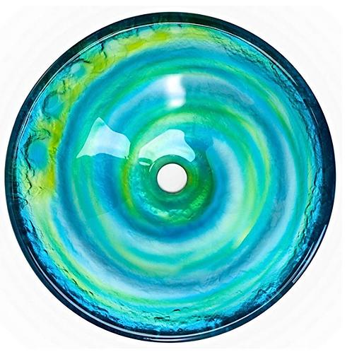 Oceanic Watercolor sink