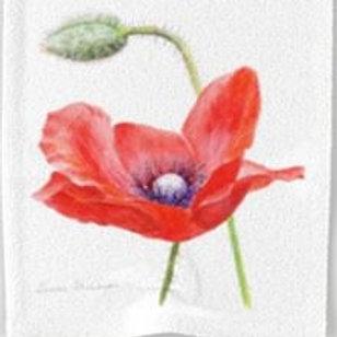 Poppy Bloom towel set