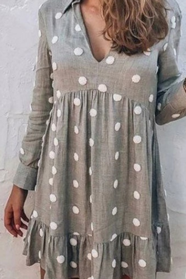 Spot Dress (Knee length)