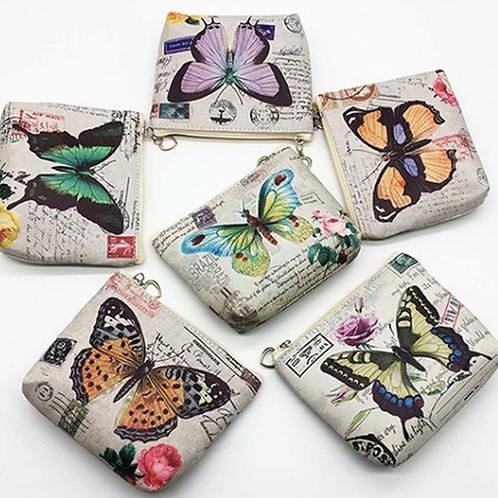 Vintage Butterfly Purse