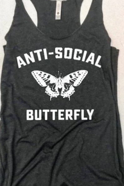 Butterfly Workout/Casual Top