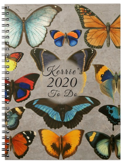 Personalised Butterfly Journal