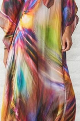 Multi Coloured Kaftan (Full Length)