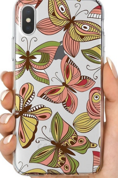 Graphic Vintage Butterfly Phone Case