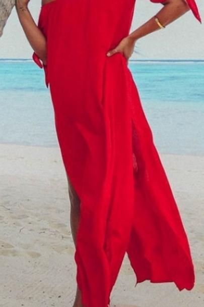 Boho Summer Dress (Full Length)