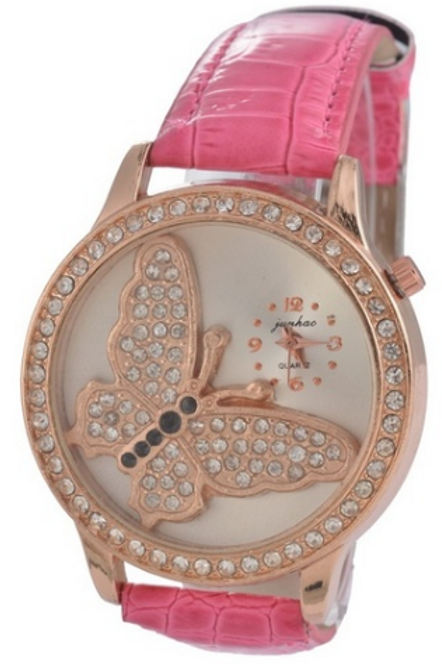 Rose Gold Band Watch