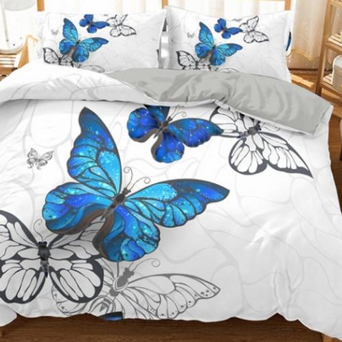 Ulysses Butterfly Comforter Set