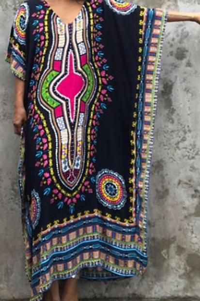 Tribal Maxi Dress (Full Length)