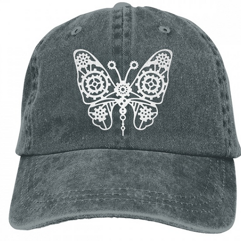 Lace Butterfly Cap