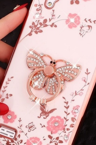 Bling Butterfly Phone Case