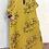 Thumbnail: Vintage Floral Boho Maxi Dress (3/4 Length)
