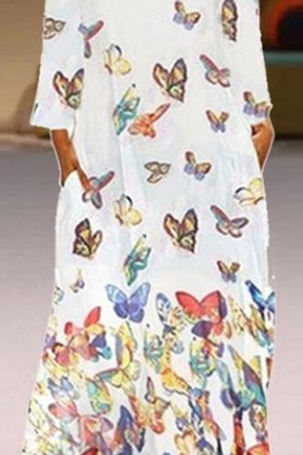 Boho Butterfly Maxi