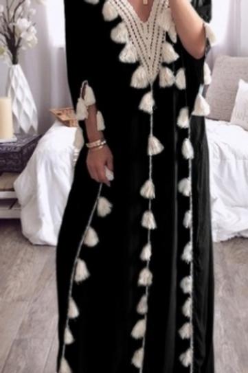 Tassel Boho Dress