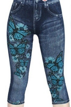 Butterfly 3/4 Jeans