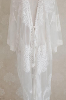 Lace Boho Cover Up (Full Length)