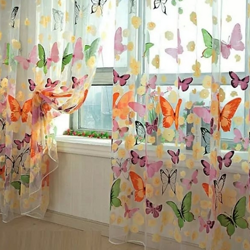 Butterfly Curtains (W 200cm x L 250cm)