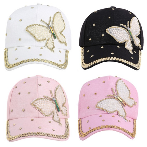 Bling Butterfly Caps