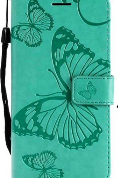 Butterfly Leather Flip Phone Case