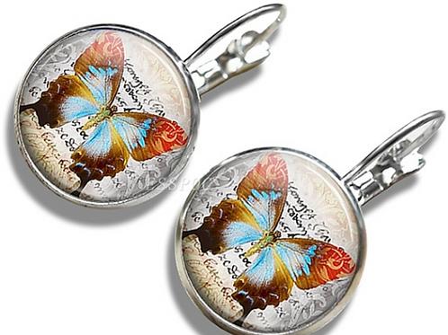 Butterfly Vintage Earrings
