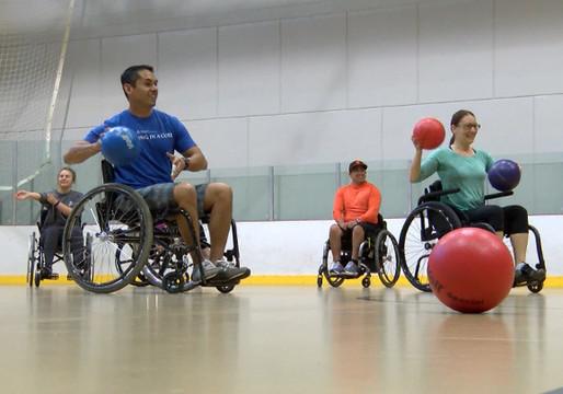Para Wheelchair Dodgeball