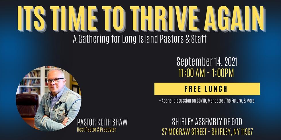 Long Island Assemblies of God Network Pastors Gathering